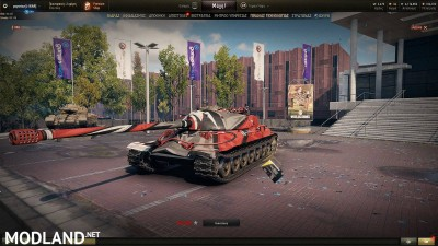 IS-7 Racing Pattern Skin 1.4 [1.4.0.1], 1 photo